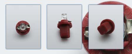 PnP-Socket, LED červený km-LCD displej