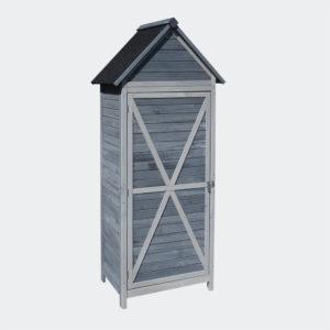 Zahradní domek na nářadí ze dřeva, 77x53x179cm