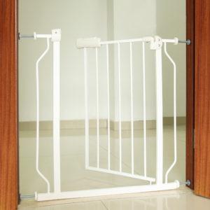 Bezpečnostní schodišťová brána 74x80cm bílá