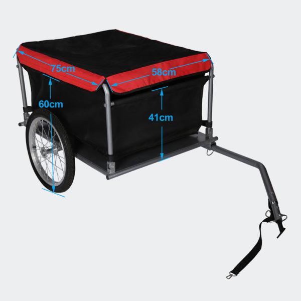 Nákladní přívěs za kolo do 65kg